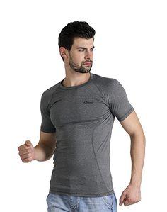 Men's Plain Grey T-shirt – Atheno India