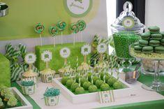 Frog theme birthday party