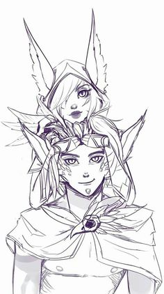 League of Legends - Rakan and Xayah