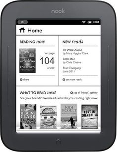 The Barnes & Noble Nook Simple Touch Reader is more than merely a worthy competitor to the Kindle, as I wrote when I saw the e-book reader demonstrated late last month. Now that we've tested the device in our labs,. E Book Reader, Easy Reader, Reading Notes, Reading At Home, Reading Habits, Reading Response, Free Books, My Books, Before Midnight