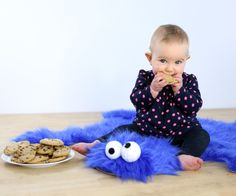 Om nom nom!Bring everyone's favourite cookie eating monster home with your own cookie monster rug. This iconic blue abomination was just begging to be remade into a bear skin rug. Using blue faux-fur fabric and some other textile supplies, I was able to make this rug in under an hour. This soft rug is great for kids, and the cookie pillows really make it complete. Better hide your cookies, as this furry blue monster is ready to steal all your goodies (and then your heart)Ready? Let's make!
