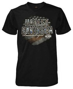 ee9b4a4959db Harley-Davidson Men s Brace Patriotic H-D Short Sleeve T-Shirt Solid Black  Mens Braces