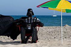 Darth Vader takes a vacation. ^.^