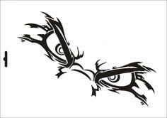 Stencil W-243 Angry Eyes Umr Wall Stencil Graffiti Tattoo, Graffiti Wall Art, Skull Stencil, Stencil Art, Stenciling, Free Stencils, Stencil Templates, Skull Tattoos, Body Art Tattoos