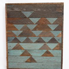 Upcycled Houten Kunst door Upcycle Society