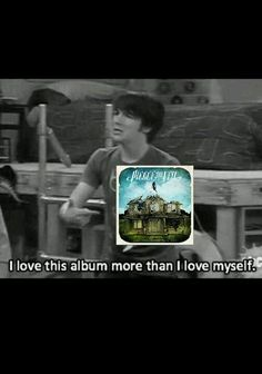 Seriously. Pierce the Veil. Collide with the Sky.