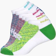 Womens Under Armour Space Dye No Show Socks