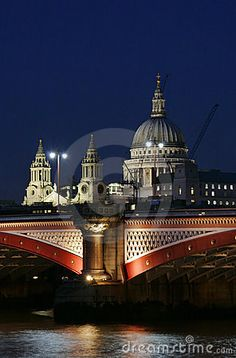 London Bridge and St Paul's Cathedral at night London Bridge, London City, Pictures Of England, Great Britain United Kingdom, London Night, London Attractions, London Pictures, London Photography, London Calling