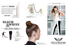 Black & White, Black Spinel , White Pearls, Olivia Palermo