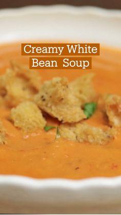 Crockpot Recipes, Soup Recipes, Vegetarian Recipes, Dinner Recipes, Cooking Recipes, Healthy Recipes, Dinner Ideas, Cabbage Soup Diet, White Bean Soup