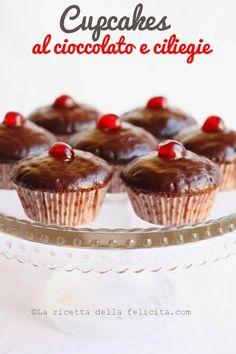 La ricetta della felicità: Cupcakes al cioccolato e ciliegie di Nigella...gluten free!