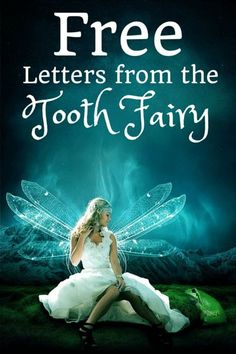 I'm going to be real here… our tooth fairy is a REAL flake.  Seriously?  How many time can you forget to come :)  She ends up coming a lot AFTER the girls got to school.  If yours is flaky, too you might be in need of these letters.