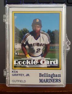 be2b31c967 1987 Bellingham Mariners Team Set Ken Griffey Jr First Card Rookie RC… Ken  Griffey,