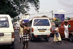 A common sight in Ghana streets