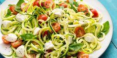La ricetta degli spaghetti di zucchine tricolori -cosmopolitan.it
