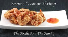 Sesame Coconut Shrimp