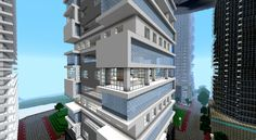 Modern Minecraft Apartments