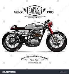 Find Vintage Cafe Racer Poster stock images in HD and millions of other royalty-free stock photos, illustrations and vectors in the Shutterstock collection. Triumph Cafe Racer, Cafe Racer Motorcycle, Motorcycle Garage, Motorcycle Art, Cafe Racer Tank, Cafe Racer Vintage, Café Vintage, Vintage Sport, Tank Tattoo