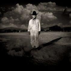Jack Spencer - Hombre de Nube de Polvo, Oaxaca 2000, from the series 'Apariciones'