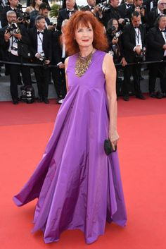 Sabine Azema attends the Closing Ceremony during the 70th annual Cannes Film Festival at Palais des Festivals on May 28 2017 in Cannes France
