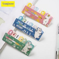 Hello lovely moomin memo pad n times sticky notes escolar papelaria school  #houseofnovelty