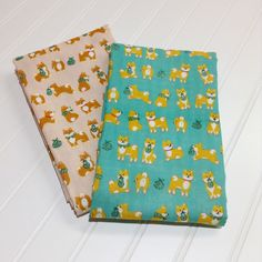 Order of the day!! Shiba Inu double gauze is always the right choice!! 😍😁🎉