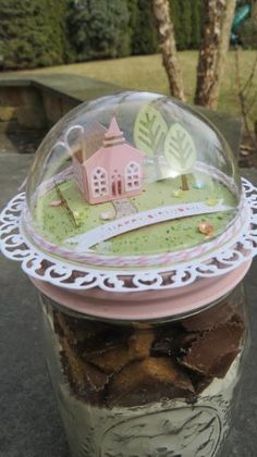 Little Pink Church by KarenBinPa - Cards and Paper Crafts at Splitcoaststampers