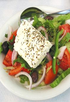 """Classic Greek Salad """"Greek Salad Choriatiki"""""""