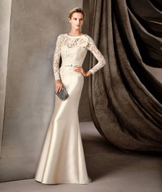 CAMILA - Pronovias long party dress for daytime celebrations