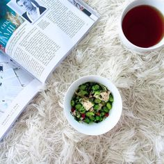 S N A C K . T I M E | Relaxing into the long weekend with some #saharatea and healthy snacks  Happy Canada Day!