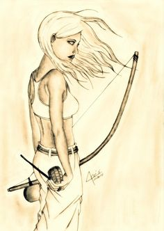 Capoeira Girl - awesome capoeira art