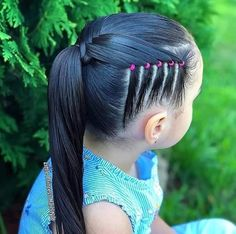 Each of these hairdos represent fairly simple as well as are ideal for novices, fast and simple toddler hair-styles. Tree Braids Hairstyles, Mixed Kids Hairstyles, Cute Little Girl Hairstyles, Baby Girl Hairstyles, Princess Hairstyles, Braided Hairstyles, Hairdos, Natural Hair Styles For Black Women, Short Hair Styles