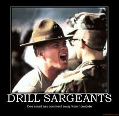 The hair on my son's neck still stands up when he hears a Drill Instructor! Ooh-Rah for all our Marine DI's, they make Marines Marine Corps Humor, Us Marine Corps, Once A Marine, Marine Mom, Military Memes, Military Life, Funny Military, Army Life, Army Memes