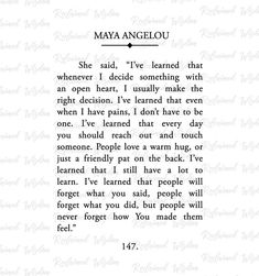 Maya Angelou Book Page Maya Angelou Print Maya Angelou Now Quotes, Self Love Quotes, Words Quotes, Wise Words, Quotes To Live By, Sayings, Be Kind Quotes, Finding The One Quotes, Eat Pray Love Quotes