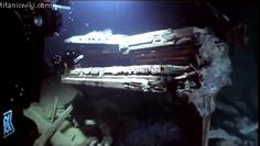 Pictures of Titanic wreckage - Piano