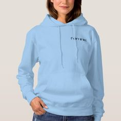 Feminism in Baby Blue Hoodie - baby gifts child new born gift idea diy cyo special unique design
