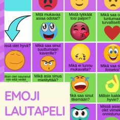 Tunne- ja vuorovaikutustaidot - tunteiden tunnistaminen - Viitottu Rakkaus Emotional Regulation, Social Skills, Emoji, Classroom, Teacher, How To Get, Class Room, Professor, Teachers