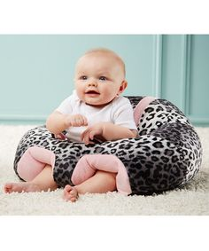 This adorable plush seat features an upright position that stabilizes backs, sides and legs to provide all-around support and help prevent after-meal reflux. With a lightweight design and two toy attachments, this lovable seat will be Baby's royal throne in every room. Note: This product is intended for floor use only. Do not use on elevated surfaces. Do not leave your infant unattended in the seat.