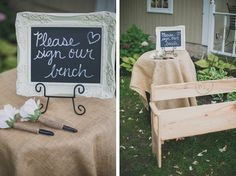Great keepsake instead of a guest book