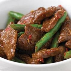 Stir fry Beef with  Green Beans