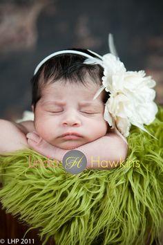 cute baby pose