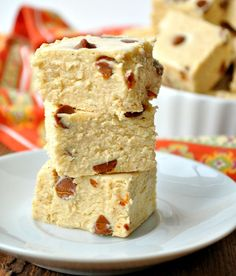 Pumpkin Spice Fudge with Cinnamon Chips - a bit overly sweet...may adjust recipe next time.