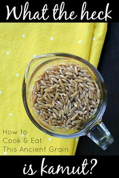 How to Cook Kamut + Delicious Kamut Recipes - Glue & Glitter...