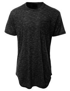 This hipster hip hop longline t-shirt is simple yet modern. Wear this short sleeve t-shirt for outdoor activities or when running errands. Its lightweight and soft material will give you all-day comfo