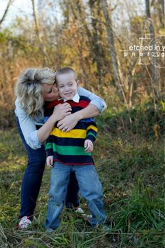 Mother & Son photo. Family picture. Photo by Etched in Your Mind Photography.