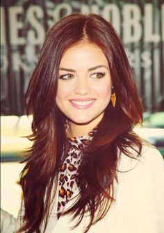 Auburn hair in love. This will be my next do!