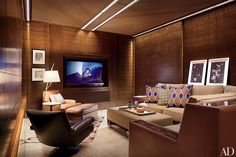 16 Home Theater Design Ideas for the Most Luxurious Movie Nights Photos | Architectural Digest