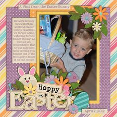 Hoppy Easter 2012 - Scrapbook.com