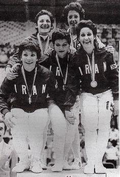 Iranian female Olympics medalists