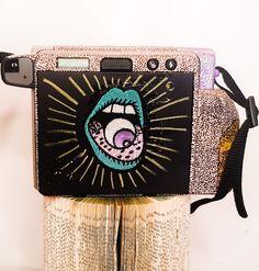 INSTAX WIDE CUSTOM Instax Wide, Eye Art, Taurus, Recycling, Bags, Handbags, Eye Painting, Taschen, Recyle